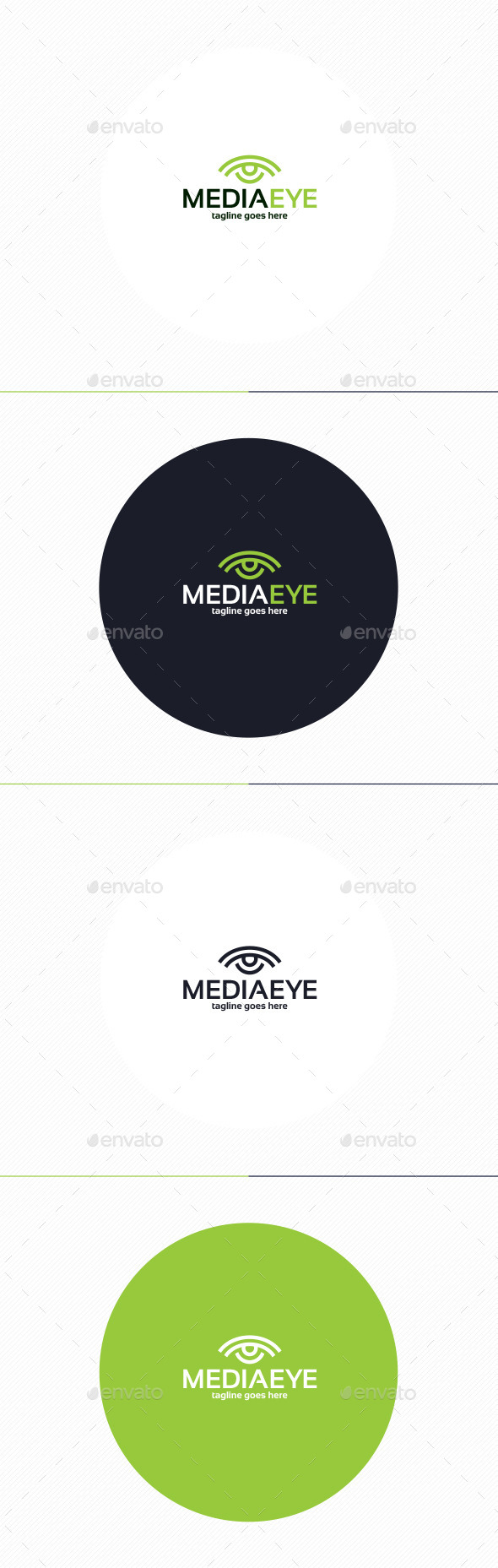 GraphicRiver Media Eye Logo 10240139