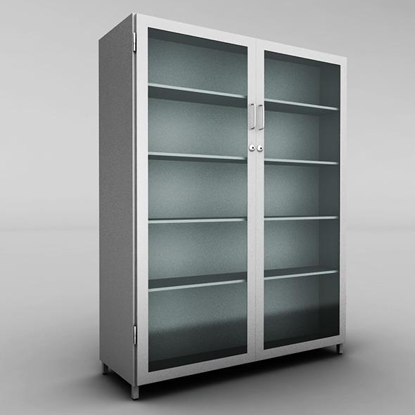 3DOcean Metal cabinet 10240377