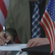 American Businessman Working in the Office - VideoHive Item for Sale