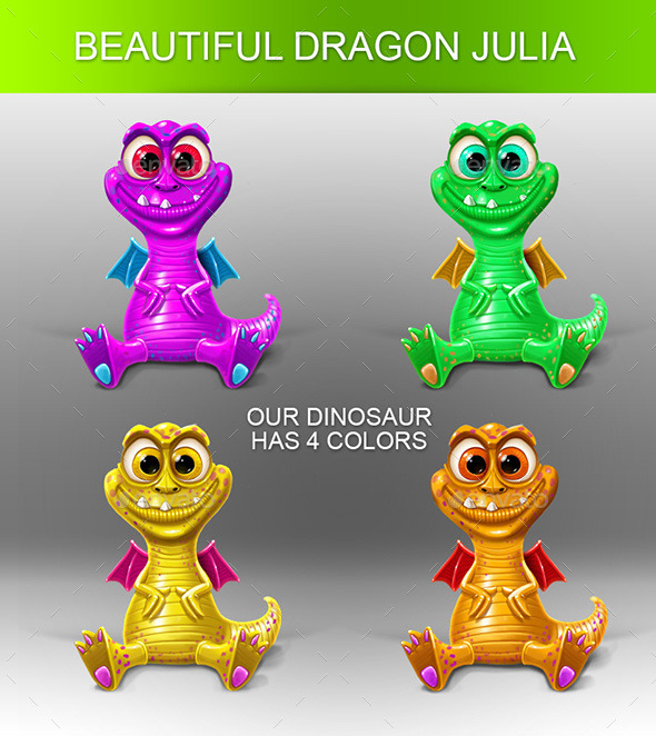 GraphicRiver Dragon Julia 10152274