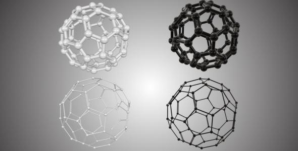 Bucky Ball Molecule