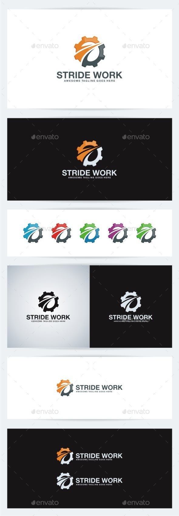 GraphicRiver Stride Work 10240950