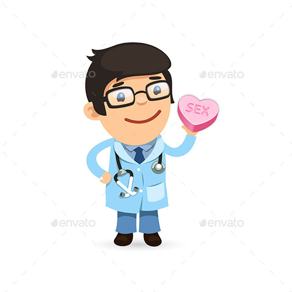 GraphicRiver Valentines Day Poster with Doctor 10213799