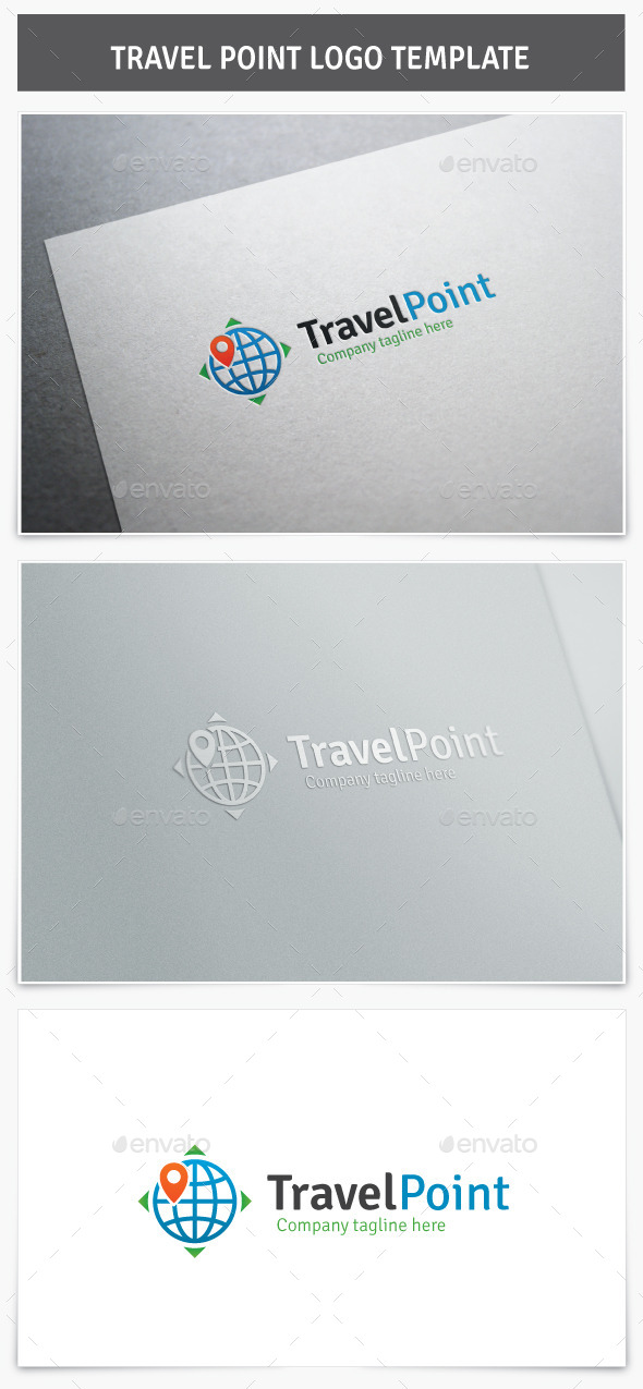 GraphicRiver Travel Point Logo 10241204