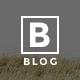 B-Blog - Multipurpose Photography Wordpress Theme