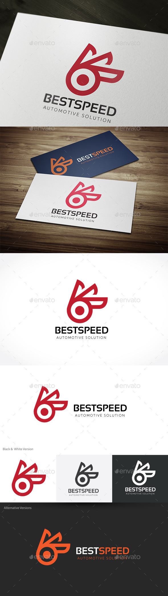 GraphicRiver Best Speed B Letter Logo 10241347