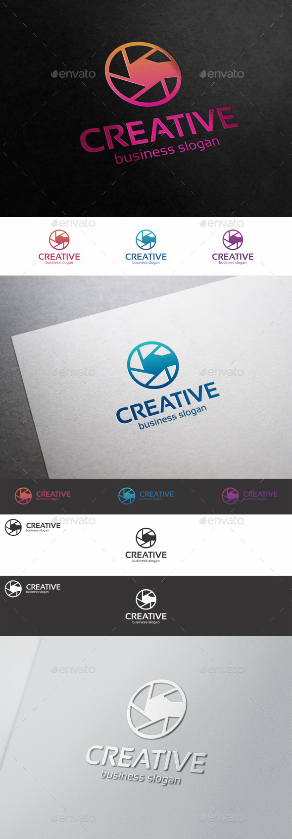 GraphicRiver Creative Photo Logo Diaphragm C Letter 10241402