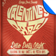 Valentine Retro Party Flyer Template - GraphicRiver Item for Sale