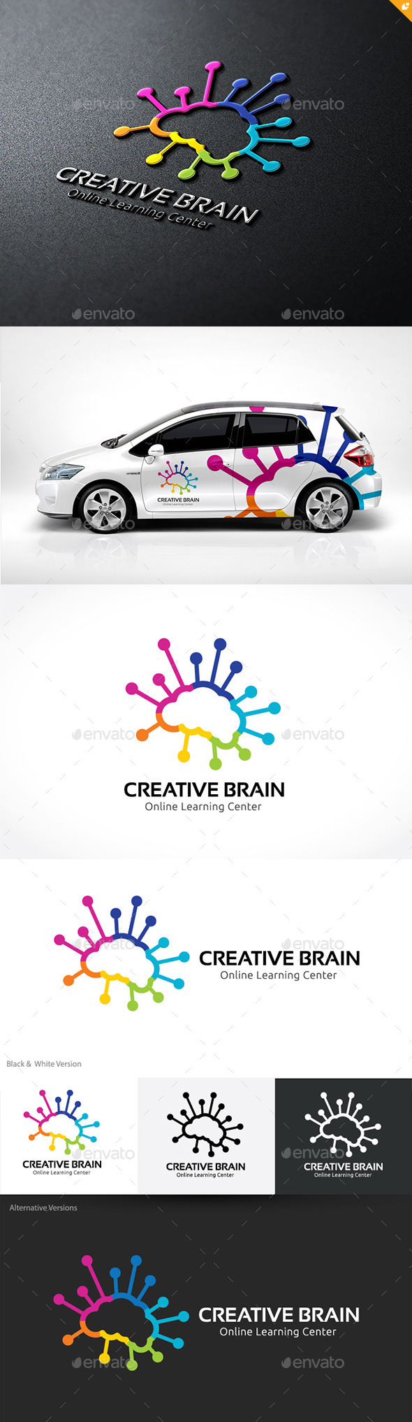 GraphicRiver Creative Brain 10241849