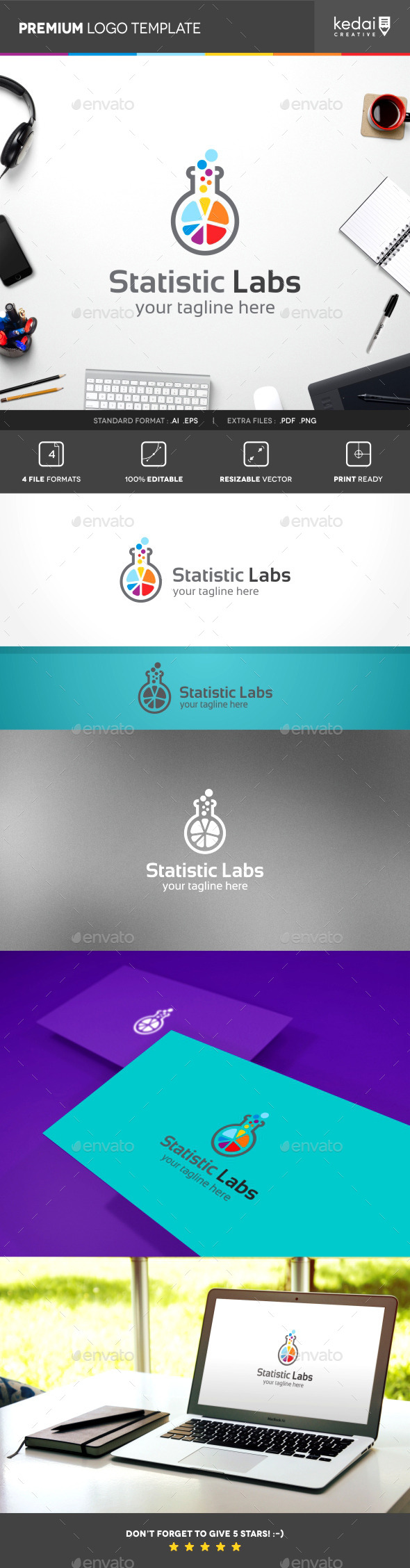GraphicRiver Statistic Labs 10241877