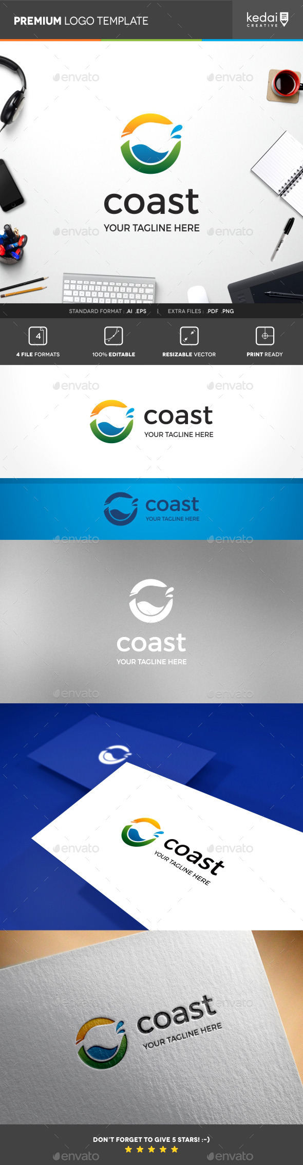 GraphicRiver Coast 10241937