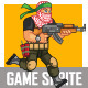 Arabic Militia Game Sprite - GraphicRiver Item for Sale