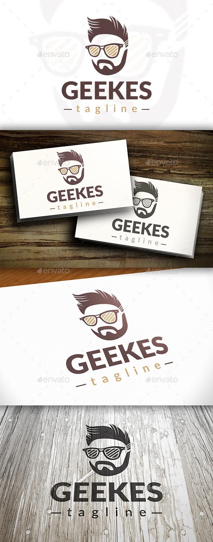 GraphicRiver Modern Geek Logo 10242208