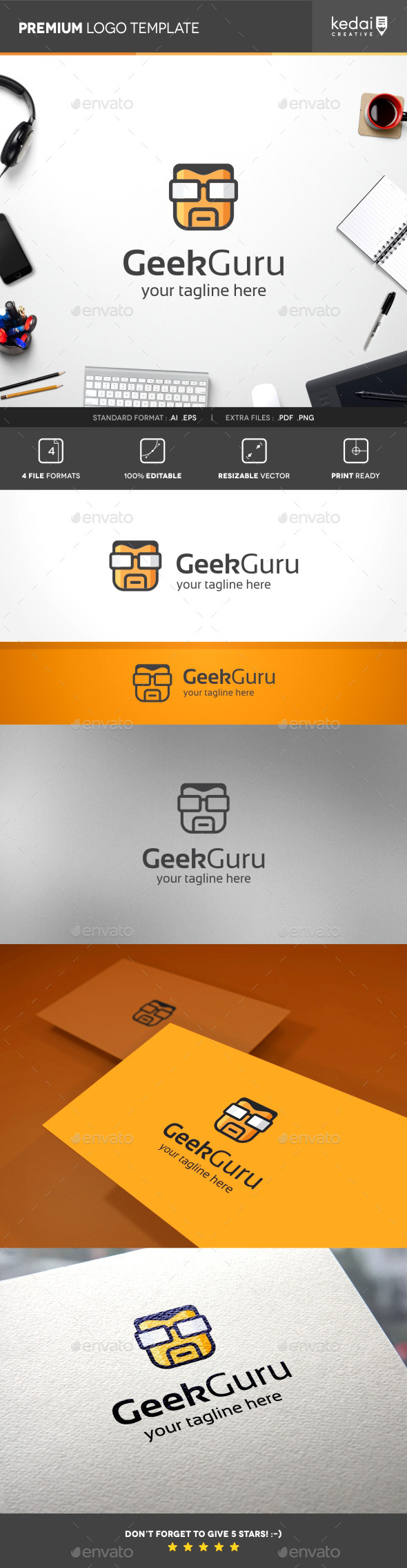 GraphicRiver Geek Guru 10242220
