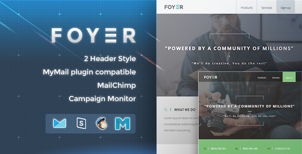 Foyer - Responsive Email Template