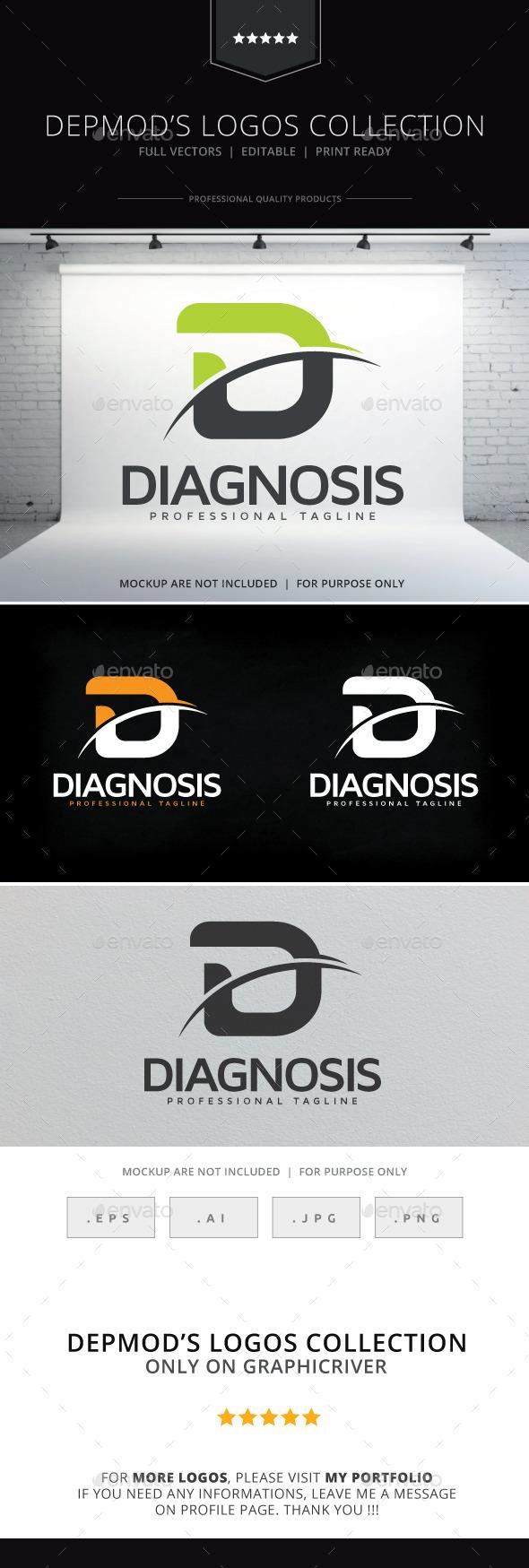 GraphicRiver Diagnosis Logo 10242287