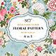 Vintage Classic Floral Pattern Colorful Set - GraphicRiver Item for Sale