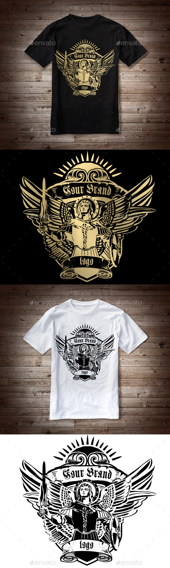 GraphicRiver T-Shirt Illustration Angel 10242731
