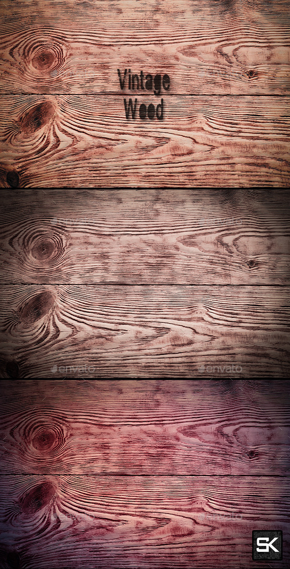 GraphicRiver Vintage Wood.2 10242854