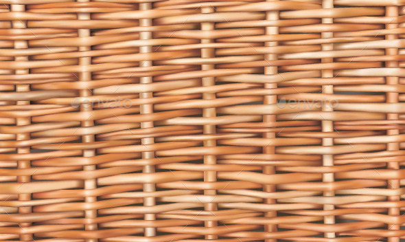GraphicRiver Wicker Seamless Background 10242932