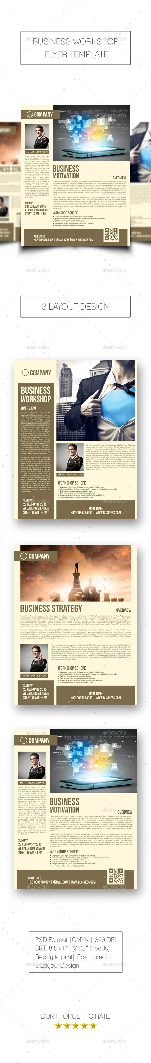 GraphicRiver Business Workshop Flyer 10243007