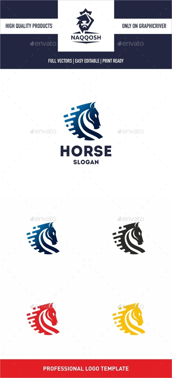 GraphicRiver Horse 10243103