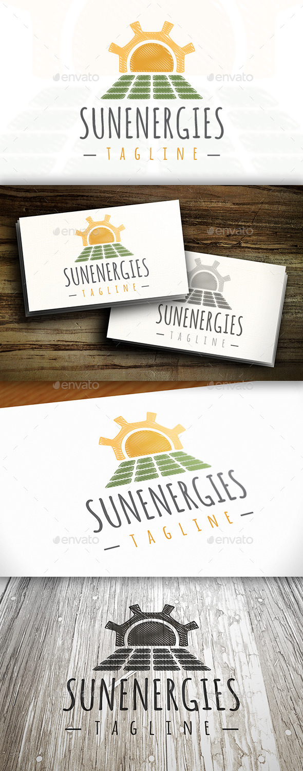 GraphicRiver Sun Energy Logo 10243109