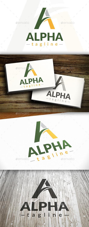 GraphicRiver Alpha Letter A Logo 10243363