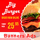 Banners Food - GraphicRiver Item for Sale