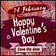 Valentine's Day Cards Design - GraphicRiver Item for Sale