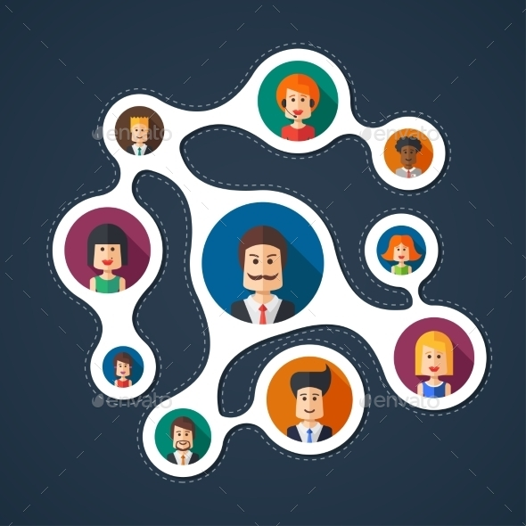 GraphicRiver Business Teamwork 10243502