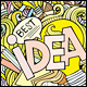 2 Idea Doodles Backgrounds - GraphicRiver Item for Sale