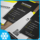 Modern Business Card Template No 5. - GraphicRiver Item for Sale