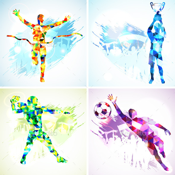 GraphicRiver Sports Players 9571847