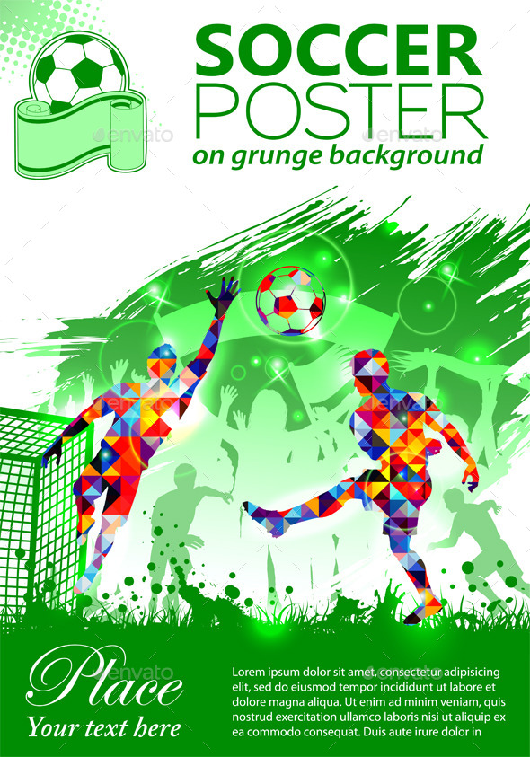 GraphicRiver Soccer Poster 9497115
