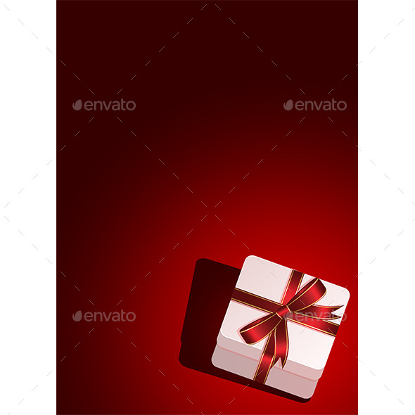 GraphicRiver Background with Gift Box 10243765