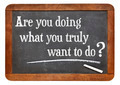 Are you doing what you truly want to do? - PhotoDune Item for Sale