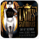 Ladies Saturdays Flyer Template - GraphicRiver Item for Sale
