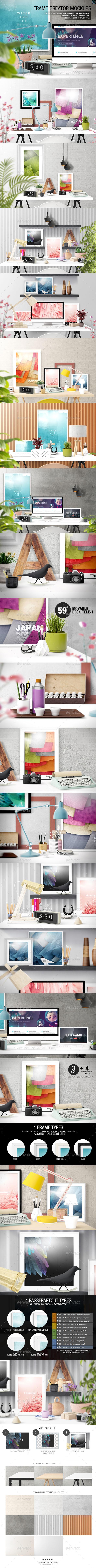 GraphicRiver Frame Creator Mockups 10243843