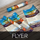 Travel Agency Flyer Indesign Template - GraphicRiver Item for Sale