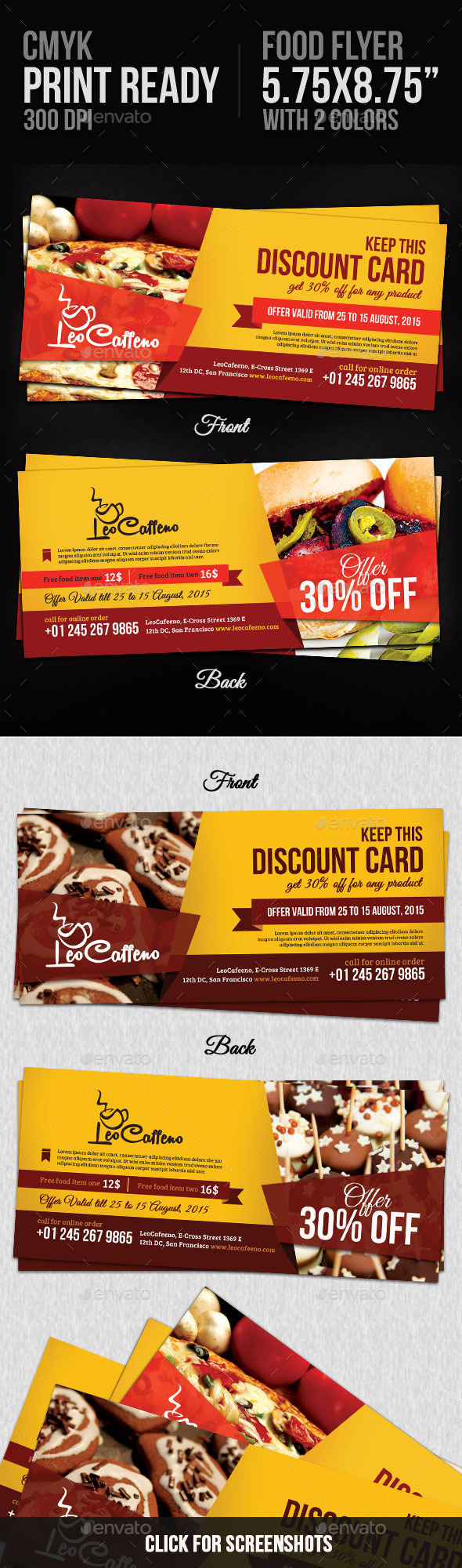 GraphicRiver Food Coupons 10243874