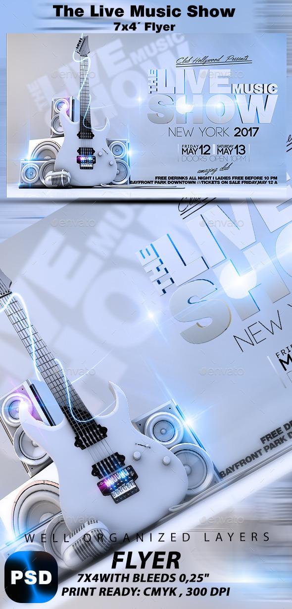 GraphicRiver The Live Music Show 10244464