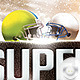 Flyer Super Ball Game - Template - GraphicRiver Item for Sale