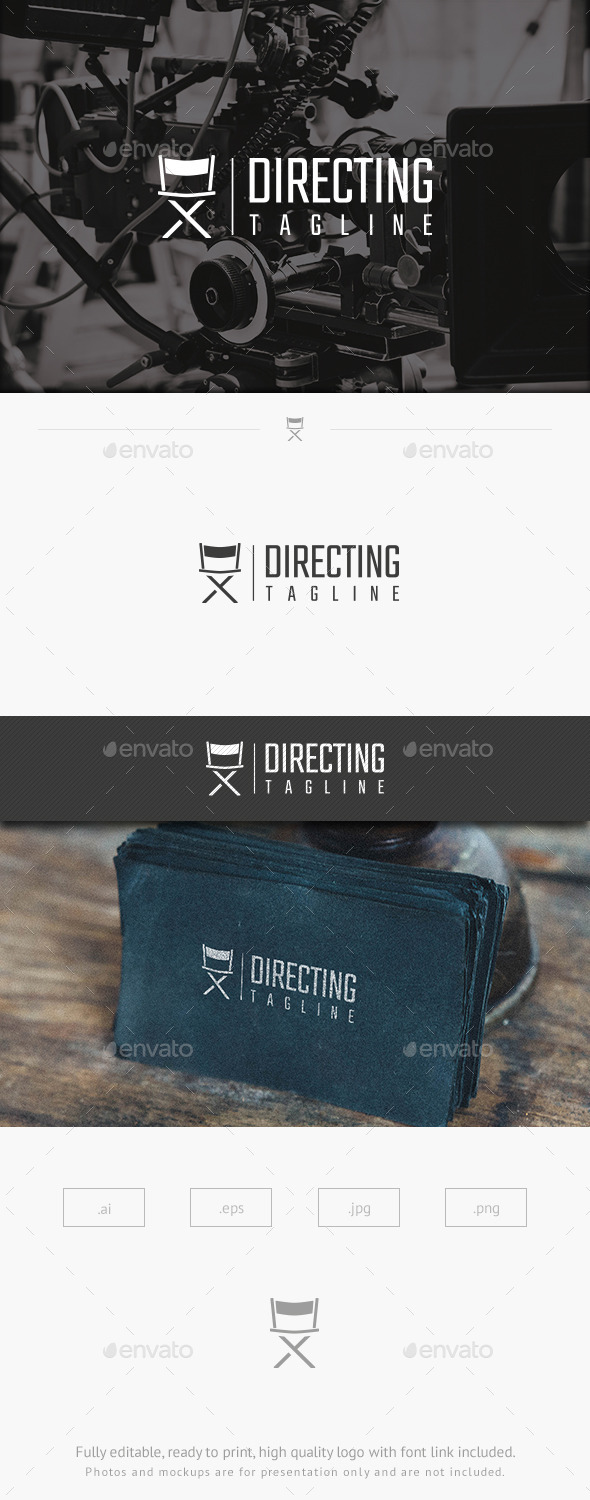 GraphicRiver Director s Chair Logo 10070874