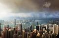 Hong Kong island from Victoria's Peak - PhotoDune Item for Sale