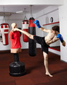 Kickboxer training in the gym - PhotoDune Item for Sale