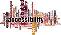Accessibility Word Cloud Concept - PhotoDune Item for Sale