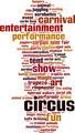 Circus Word Cloud Concept - PhotoDune Item for Sale