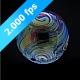 Colorful, Single Soapbubble Is Bursting - VideoHive Item for Sale