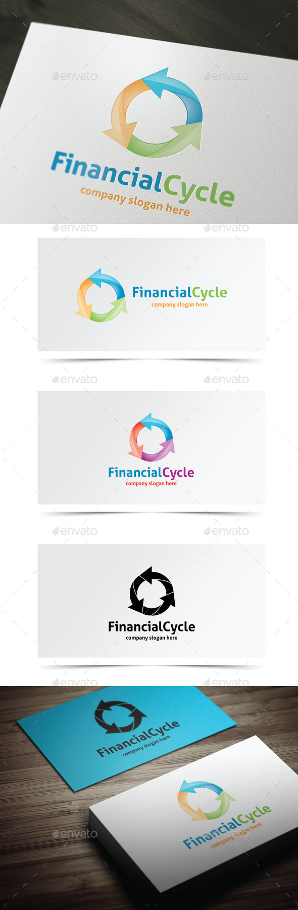 GraphicRiver Financial Cycle 10245182